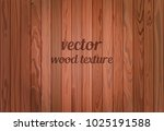 vector brown wood texture.... | Shutterstock .eps vector #1025191588
