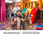 image of emotional cheerful... | Shutterstock . vector #1025193526