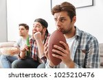 image of involved male sport... | Shutterstock . vector #1025210476