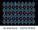 abstract beautiful applique...   Shutterstock .eps vector #1025219344