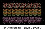 abstract beautiful applique... | Shutterstock .eps vector #1025219350