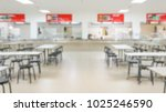 Stock photo abstract blur canteen room background 1025246590
