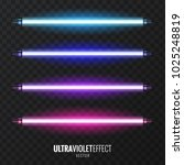 vector image of ultraviolet... | Shutterstock .eps vector #1025248819