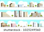 3d landscape of the city | Shutterstock .eps vector #1025249560
