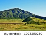 mount aso  aso san   the... | Shutterstock . vector #1025250250