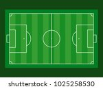 football field aerial view on...   Shutterstock .eps vector #1025258530