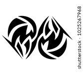 tattoos ideas designs   tribal... | Shutterstock .eps vector #1025267968