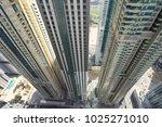 dubai skyscrapers 3 buildings | Shutterstock . vector #1025271010