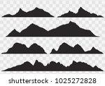 abstract high mountain border... | Shutterstock .eps vector #1025272828