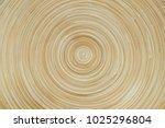 circular bamboo texture for... | Shutterstock . vector #1025296804
