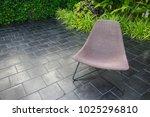 interior design   rattan chair... | Shutterstock . vector #1025296810