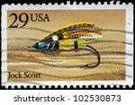 Usa   Circa 1991  A Stamp...
