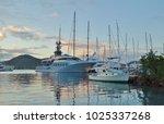 saint paul parish   antigua and ... | Shutterstock . vector #1025337268