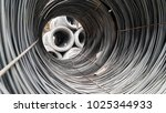 metal wire raw material | Shutterstock . vector #1025344933