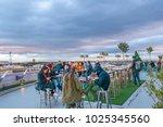 madrid  spain  december   2017  ... | Shutterstock . vector #1025345560