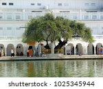 amritsar  punjab  india  april...   Shutterstock . vector #1025345944