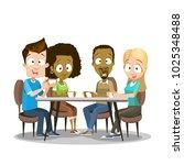 vector illustration of... | Shutterstock .eps vector #1025348488