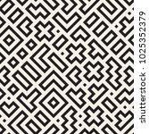 seamless vector chaotic pattern.... | Shutterstock .eps vector #1025352379