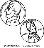 black and white illustration of ... | Shutterstock .eps vector #1025367403