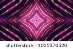 glittering neon lights stage   Shutterstock . vector #1025370520