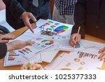 business team corporate... | Shutterstock . vector #1025377333