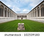 The Inner Court Of Campo Santo...