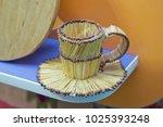 match cup . match glass .... | Shutterstock . vector #1025393248