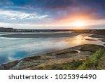 batiquitos lagoon  carlsbad... | Shutterstock . vector #1025394490