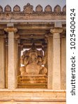 sasivekalu ganesha temple is a... | Shutterstock . vector #1025400424