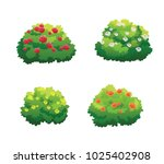 illustration of bush for... | Shutterstock .eps vector #1025402908