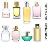 Vector Perfume Icons Set 3...