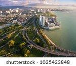 ariel view of georgetown ... | Shutterstock . vector #1025423848