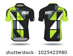 cycle jersey.sport wear... | Shutterstock .eps vector #1025423980