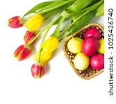 Yellow And Red Colored Easter...