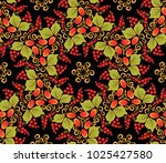 traditional russian seamless... | Shutterstock .eps vector #1025427580