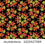 traditional russian seamless... | Shutterstock .eps vector #1025427589