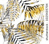 watercolor seamless pattern... | Shutterstock .eps vector #1025435704