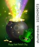 St. Patrick S Day Symbol Green...
