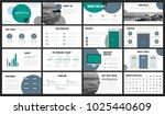 modern minimalist green and... | Shutterstock .eps vector #1025440609