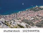 pseudo miniature tilt lens shot ... | Shutterstock . vector #1025444956