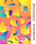 modern abstract poster cover.... | Shutterstock .eps vector #1025452168