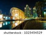downtown  dubai  uae   1 19...   Shutterstock . vector #1025454529