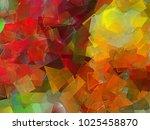 abstract geometric texture... | Shutterstock . vector #1025458870