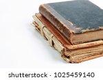 Old Vintage Book On White...