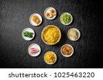 popular chinese noodles  ramen  | Shutterstock . vector #1025463220