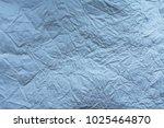 wrinkled soft paper texture | Shutterstock . vector #1025464870