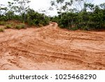 off road trail at chapada dos... | Shutterstock . vector #1025468290