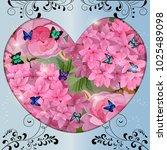 vector highly detailed... | Shutterstock .eps vector #1025489098