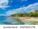 cancun  mexico   january 10 ... | Shutterstock . vector #1025502178