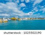 isla mujeres  mexico  january...   Shutterstock . vector #1025502190